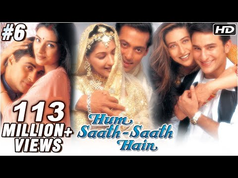 Hum Saath Saath Hain - 616 - Bollywood Movie - Salman Khan Saif...