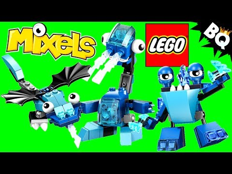 LEGO Mixels Blue Frosticons Series 2 Slumbo Lunk Flurr Review