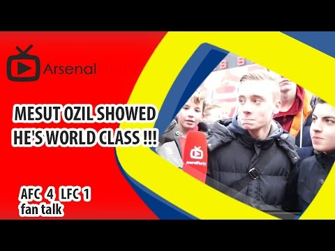 Mesut Ozil Showed He's World Class !!! | Arsenal 4 Liverpool 1