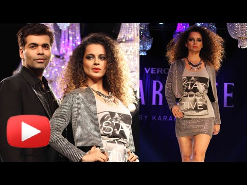 Kangana Ranaut Sets Ramp On Fire For Karan Johar's VERO MODA Marquee Collection