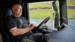 Driving the New Scania in the Faroe Islands