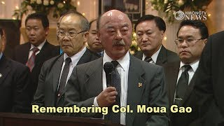 3 HMONG NEWS Remember Col Moua Gao one of the grea