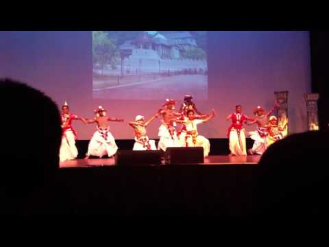 Anna Balan Performance At The Bak Maha Rangana 2011 By The Sankharidma Dance Ensemble video