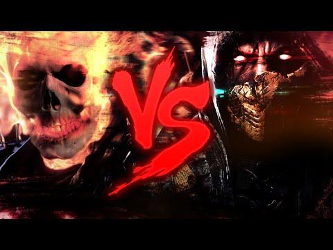 Scorpion VS. Motoqueiro Fantasma   Duelo de Titãs