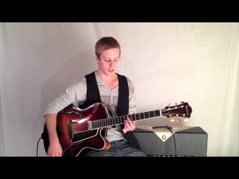 Jazz Chord Lick In G Major - Lead Jazz Guitar Lesson
