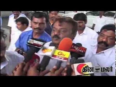 Vijayakanth  Breaking News video