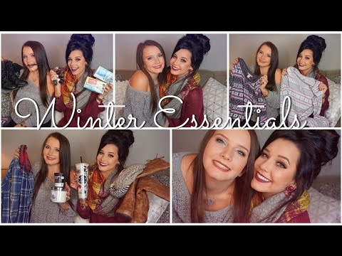 ♡autumn & Winter Essentials♡ Featuring My Sister! video