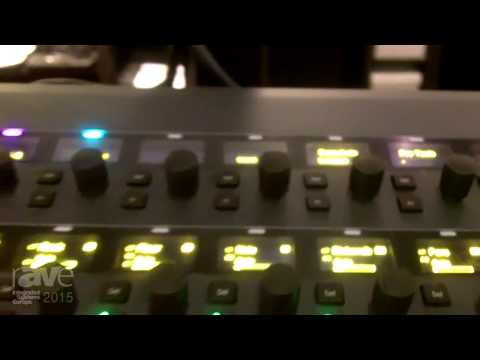 ISE 2015: Avid Highlights the S3LX Live Sound System Based on Their Venue Platform