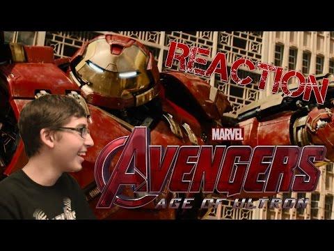 Avengers 2: Age of Ultron Trailer Reaction