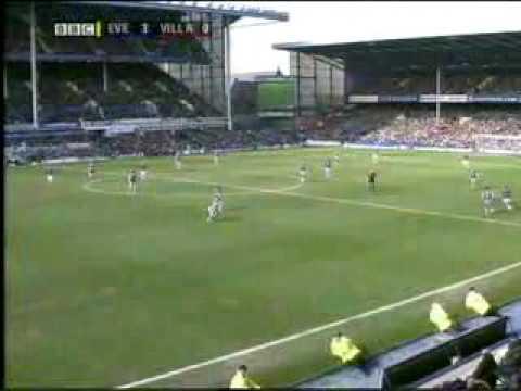 Leon Osman goal vs Aston Villa