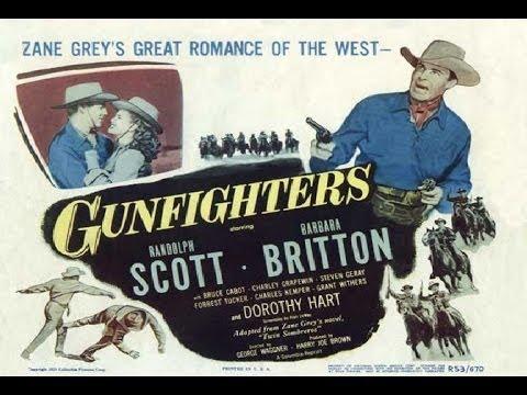 Rewolwerowcy Gunfighters 1947 lektor PL gatunek: Western, produkcja: USA, premiera: 1947r., reżyseria: George Waggner, obsada: Randolph Scott, Barbara Britto...