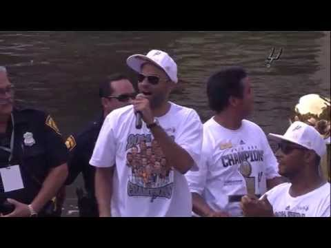 Spurs Parade: Tony Parker