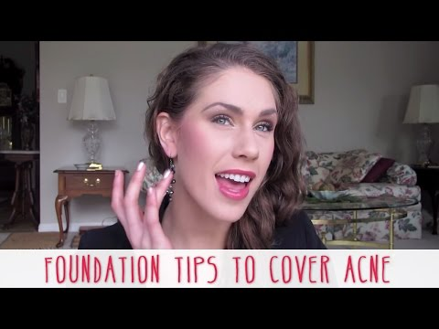 Makeup Foundation Tips To Cover Acne & Get Flawless Skin Diamondsandheels14