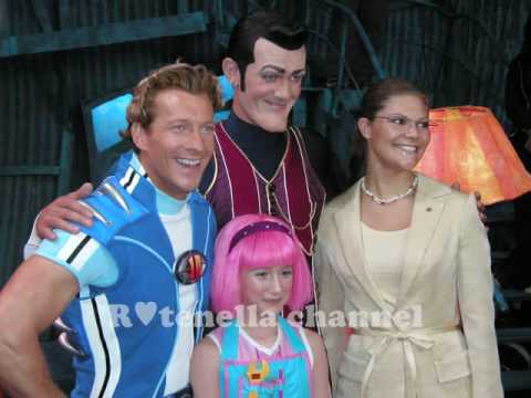 Behind the scenes of lazy town