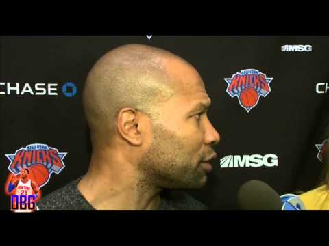 Derek Fisher On Opening Night VS Bulls