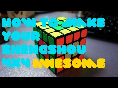 How to Make Your ShengShou 4x4 Awesome (Konsta/Florian/Assembly/Lube Tutorial)