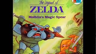 The Legend of Zelda Molblin's Magic Spear