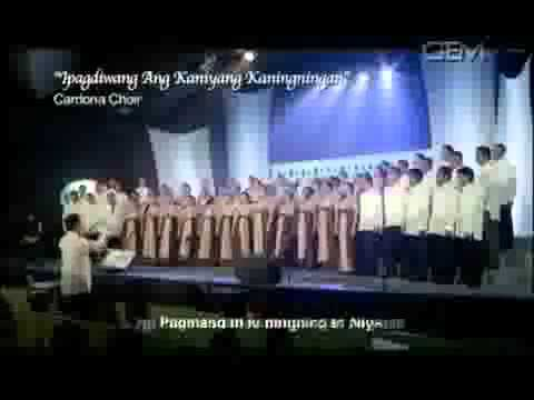 Iglesia Ni Cristo  Tabernacle Choir Choral Festival video