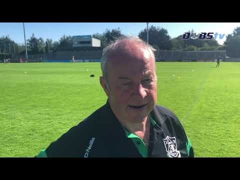 Lucan Sarsfields manager Sean McCaffrey speaks to Dubs TV