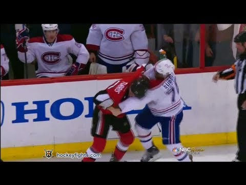 P.K. Subban vs Kyle Turris May 5, 2013