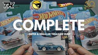Complete Hot Wheels Super Treasure Hunt And Regular Treasure Hunt 2018 - Hotwheels Indonesia