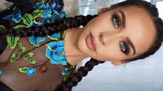 How To: Dutch/French Braid Your Own Hair | Carli Bybel