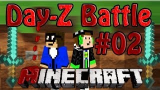 Let's Battle S1 Minecraft Day-Z Mod #2 [German/HD] - Mega-Höhle FTW!
