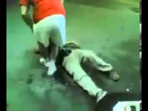Man Slaps Another Man Man Slaps Another Man