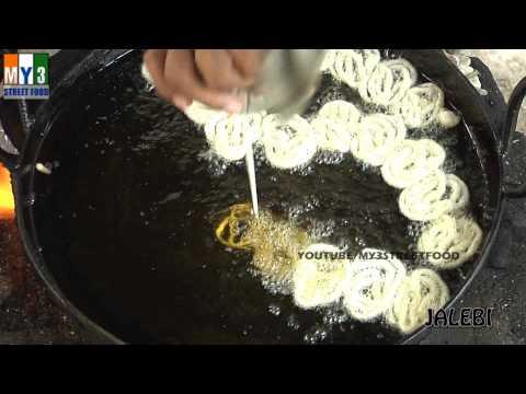 JALEBI Street Food Around The World - HYDERABAD