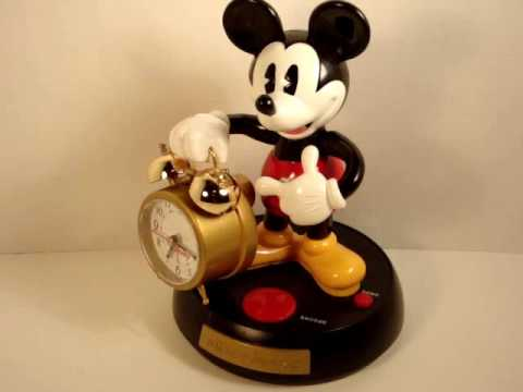 Mickey Mouse Alarm Clock Mickey Mouse Talking Clock