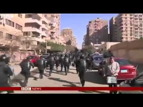 News Today - BBC News - Cairo university set on fire amid Egypt protests