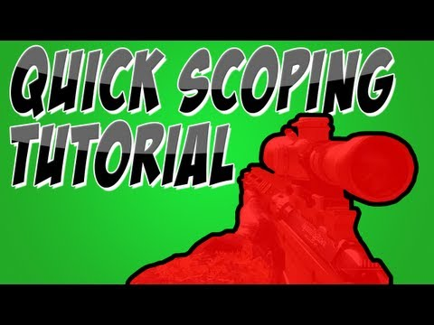 MW3: How to Quick Scope in Modern Warfare 3 Tutorial