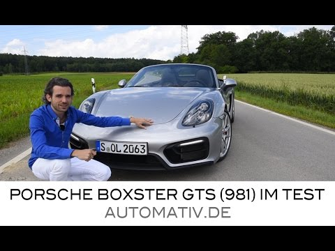 Porsche Boxster GTS (Typ 981) 330 PS Mit PDK Im Fahrbericht - Test