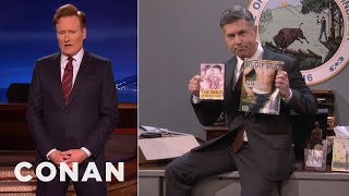 Indiana's Religious Freedom Czar Defends Its Anti-Gay Law  - CONAN on TBS