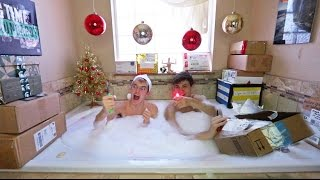 CHRISTMAS BATH FAN MAIL OPENING SPECIAL!
