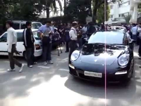 Whos house is this, expensive cars in INDIA !!!!!!!.flv