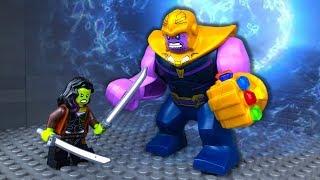 Avengers vs Thanos 👽 Endgame 🔴 Marvel Super Heroes in LEGO