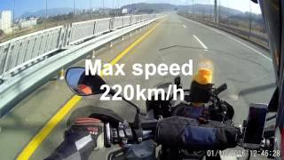 r1200gs adv, s1000xr top speed test