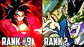 ACTIVE SKILLS RANKED FROM WORST TO BEST! | Dokkan Battle LIST! (Updated)