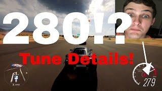280Mph Ferrari 458s! Tune Details Included! - Forza Horizon 3