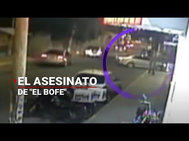 Videocámara graba asesinato de El Bofe | Noticias