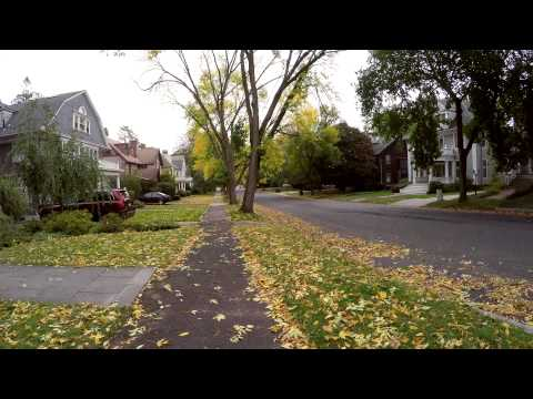 GoPro Hero 4 4K Test Video Some Fall Colors