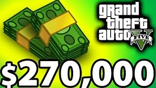 Fastest Way to Make Money - GTA 5 Tips and Tricks, $270,000 / Hour Racing Method
