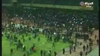 Al-Masry vs Al-Ahly 2012 - Horrific Pitch Invasion Leaves 72 Dead