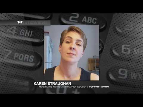 Feminists: Heroes Or Villains? Cenk Uygur Interviews Men's Rights Activist Karen Straughan