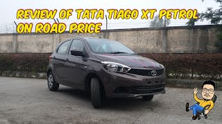 [Hindi] Review of TATA Tiago XT Petrol variant | Features | On-road price | B SI _VloGs