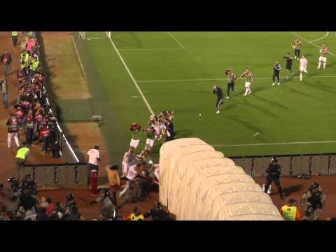 Albania vs Serbia fight