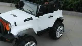 [OTĐCN] - Xe ô tô điện trẻ em jeep- P043