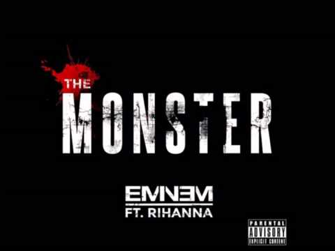 Eminem Ft. Rihanna - The Monster Instrumental   Karaoke -lyrics In Description video