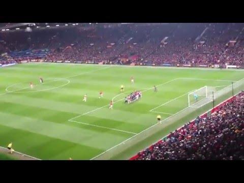 Robin Van Persie Hat-trick free kick vs Olympiakos 2nd leg Round of 16 2014